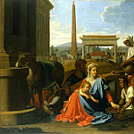 Poussin, Nicolas – The Holy Family in Egypt, part 10 Hermitage
