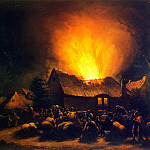 part 10 Hermitage - Poole, Egbert van der Leavens - Fire in the village