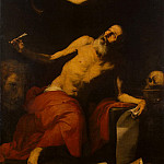 Ribera, José de – St. Jerome and the Angel, part 10 Hermitage