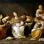Youth of the Virgin Mary, Guido Reni