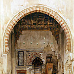 Perron, Charles – Interior of a mosque in Cairo, part 10 Hermitage