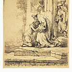 Rembrandt, Harmenszoon van Rijn – The Return of the Prodigal Son , part 10 Hermitage