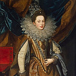part 10 Hermitage - Pourbus, Frans the Younger - Portrait of Margaret of Savoy, the Duchess of Mantua