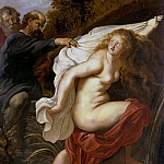 Rubens, Peter Paul – Susanna and the Elders, part 10 Hermitage