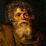 part 10 Hermitage - Rubens, Peter Paul - Old mans head. Study for the painting Christ Crowned with Thorns