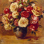 Bouquet of Roses, Pierre-Auguste Renoir