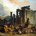 part 10 Hermitage - Robert, Hubert - Ruins of the Doric temple