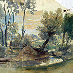 Rubens, Peter Paul – Landscape with a dam, part 10 Hermitage