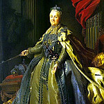 part 10 Hermitage - Roslin, Alexander - Portrait of Catherine II