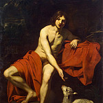 Reniery, Niccolo – John the Baptist in the wilderness, part 10 Hermitage