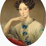 Robertson, Christina – Portrait of Grand Duchess Maria Alexandrovna of, part 10 Hermitage