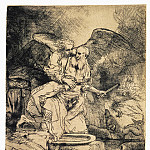 Rembrandt, Harmenszoon van Rijn – The Sacrifice of Abraham , part 10 Hermitage