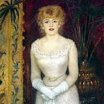 Portrait of the Actress Jeanne Samari, Pierre-Auguste Renoir