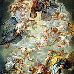 Rubens, Peter Paul – The Apotheosis of James I, part 10 Hermitage