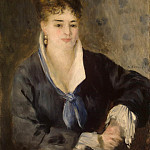 Renoir, Pierre-Auguste – Lady in Black, part 10 Hermitage