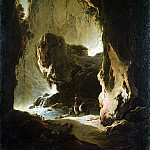 Roth, Philip Peter – Landscape with grotto, part 10 Hermitage