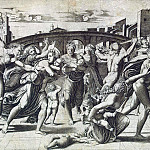 Raimondi, Marcantonio – Massacre of the Innocents, part 10 Hermitage