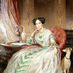 Robertson, Christine – Portrait of Grand Duchess Maria Alexandrovna , part 10 Hermitage
