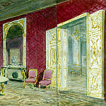 part 10 Hermitage - Piasecki, Pavel Ya - Room of Nicholas II in the castle of Compiègne