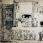 Rembrandt, Harmenszoon van Rijn – Christ to the people, part 10 Hermitage