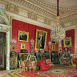 part 10 Hermitage - Premazzi, Luigi - Types of rooms of the Winter Palace. Study of Empress Maria Alexandrovna