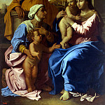 Poussin, Nicolas – The Holy Family with St.. Elizabeth and St. John the Baptist, part 10 Hermitage