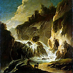 part 10 Hermitage - Roth, Philip Peter - Landscape with waterfall