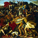 The Battle of Israelis amalekityanami, Nicolas Poussin