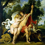Venus and Adonis, Peter Paul Rubens