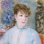 Renoir, Pierre-Auguste – Portrait of a Woman, part 10 Hermitage