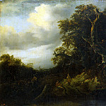 The road to the edge of the forest, Jacob Van Ruisdael