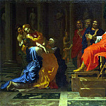 Poussin, Nicolas – Esther before Ahasuerus, part 10 Hermitage