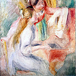Renoir, Pierre-Auguste – Girls at the piano, part 10 Hermitage