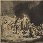 Rembrandt, Harmenszoon van Rijn – Christ, heal the sick, part 10 Hermitage