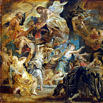 Rubens, Peter Paul – The death of Henry IV and the regency ad, part 10 Hermitage