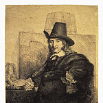 part 10 Hermitage - Rembrandt, Harmenszoon van Rijn - Portrait of the painter Jan Asseleyna