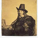 part 10 Hermitage - Rembrandt, Harmenszoon van Rijn - Portrait of the painter Jan Asseleyna (2)