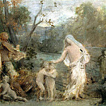 part 10 Hermitage - Puvis de Chavannes, Pierre - Allegory of life