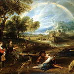 Landscape with a Rainbow, Peter Paul Rubens