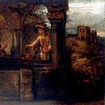 Rembrandt, Harmenszoon van Rijn – Christs conversation with the Samaritan woman, part 10 Hermitage