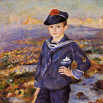 Pierre-Auguste Renoir - Sailor Boy (also known as Portrait of Robert Nunes) - 1883