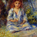The Little Algerian Girl - 1881, Pierre-Auguste Renoir