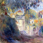 Landscape with Red Roofs, Pierre-Auguste Renoir