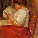 Pierre-Auguste Renoir - The Little Reader