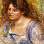 Portrait of Lucienne - 1918, Pierre-Auguste Renoir