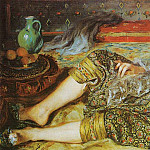 Pierre-Auguste Renoir - Odalisque (also known as An Algerian Woman) - 1870