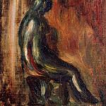 Пьер Огюст Ренуар - Study of a Statuette by Maillol - 1907