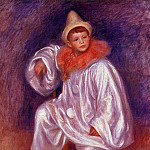 The White Pierrot - 1901 - 1902, Pierre-Auguste Renoir