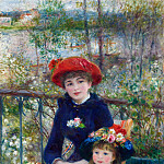 Pierre-Auguste Renoir - Two Sisters (also known as On the Terrace) - 1881