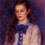 Portrait of Therese Berard - 1879, Pierre-Auguste Renoir